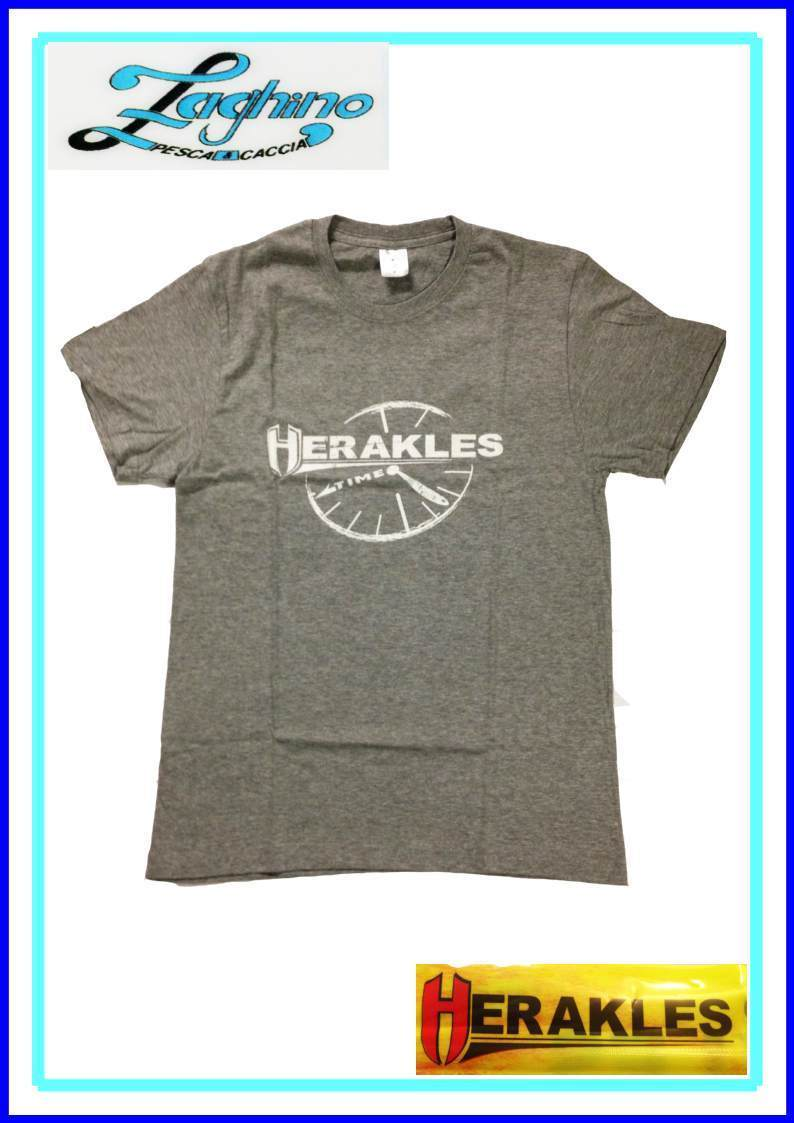 T-SHIRT HERAKLES GRIGIA TIME  NEW 2015