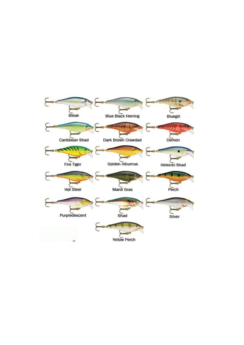 RAPALA SCATTER RAP SHAD RAPSCRS07 ARTIFICIALI spinning