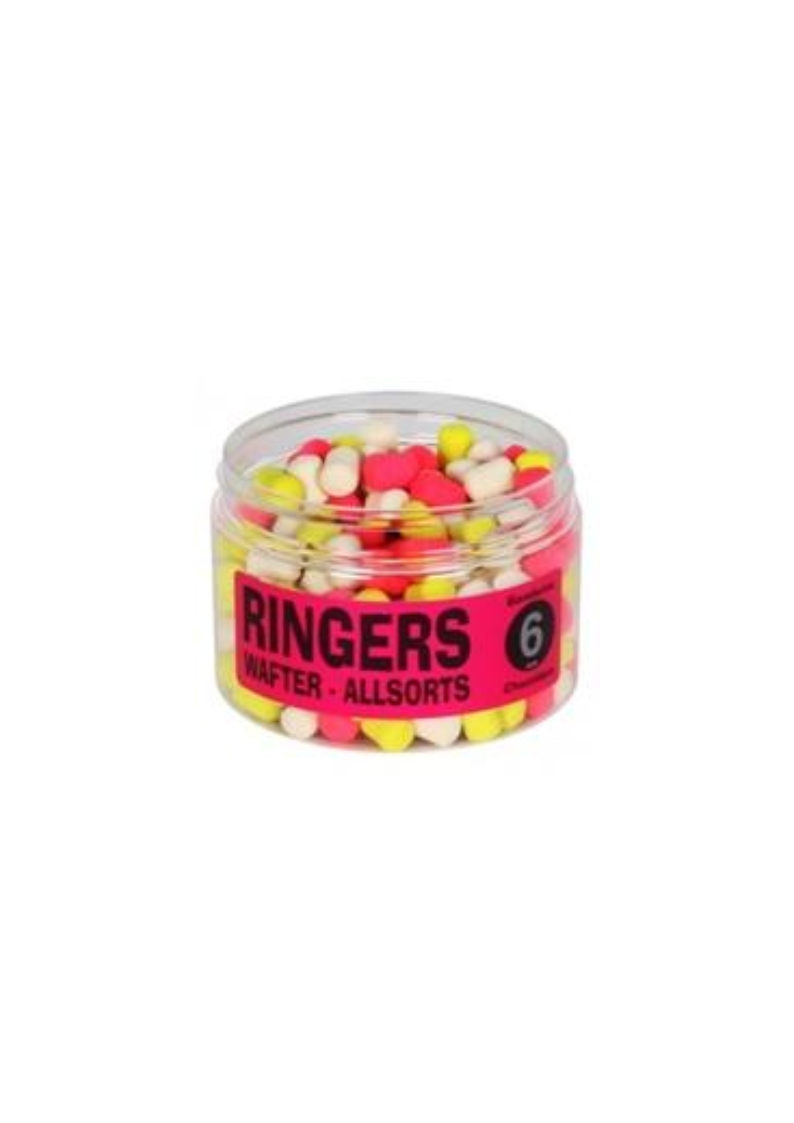 RINGERS ALL SORTS WAFTER MIXED COLOURS PELLET 6mm 100Gr