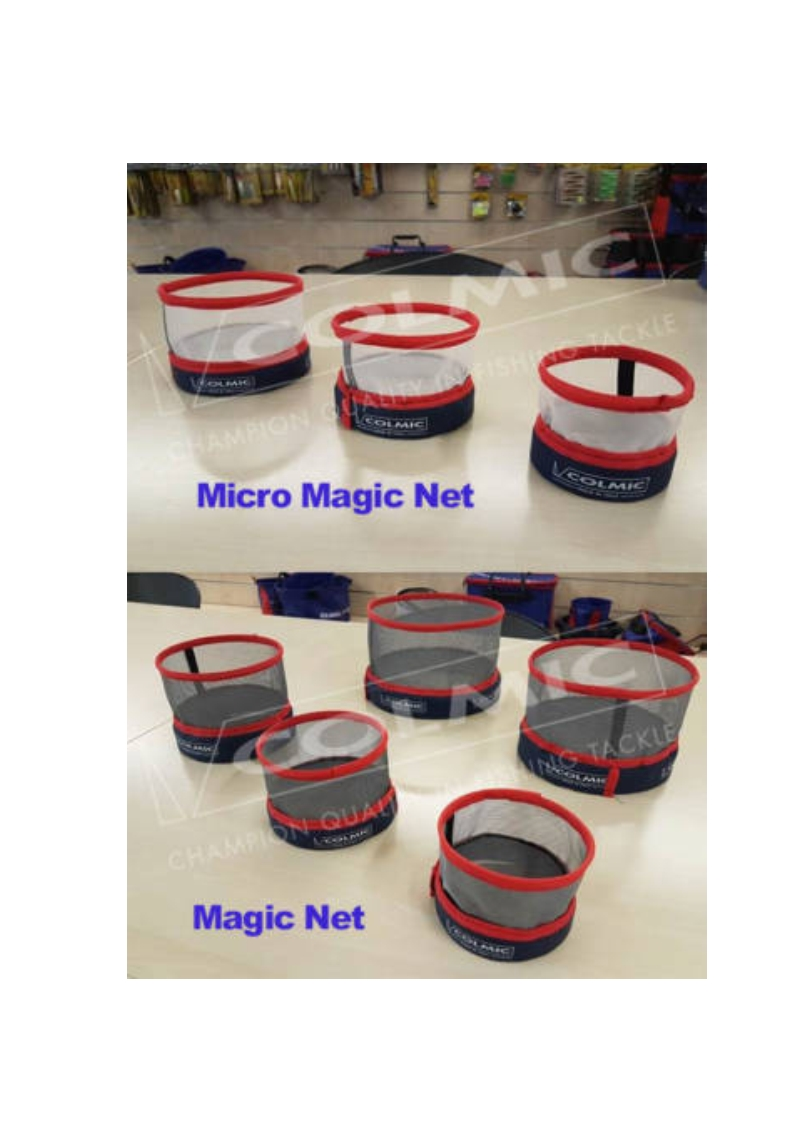 Colmic Magic Net Contenitore Porta Esche NEW