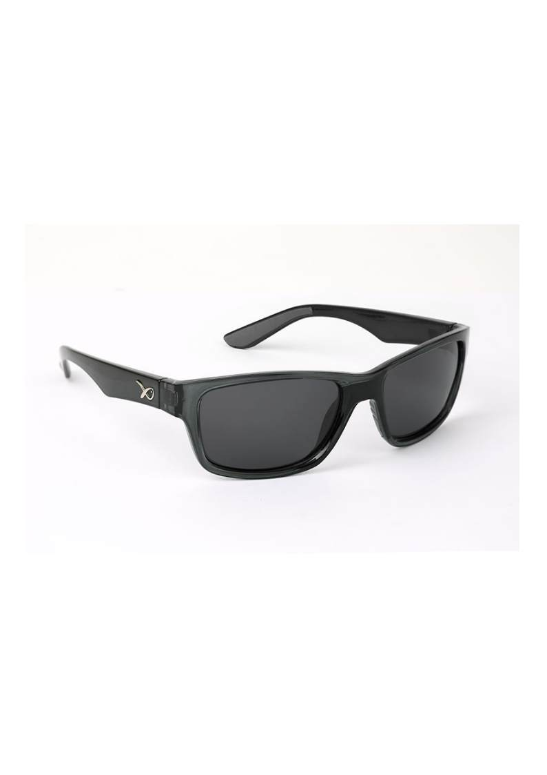 MATRIX POLARISED SUNGLASSES OCCHIALI POLAR GSN002 Casual Nero  Lenti grigie
