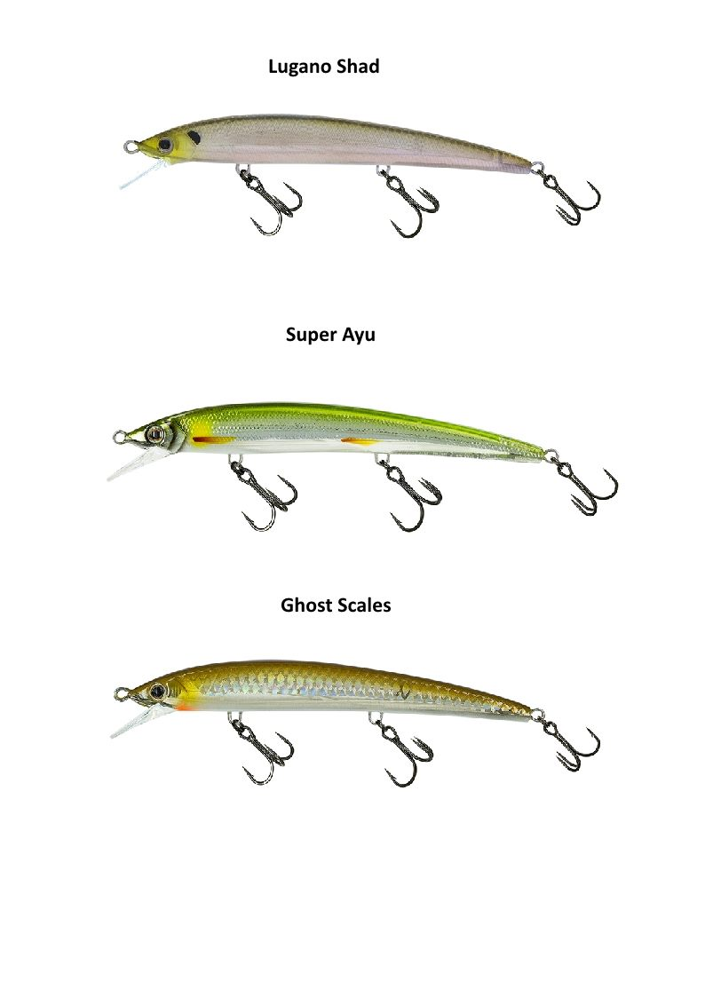 Molix Finder Jerk 110 Suspending Jerk Baits