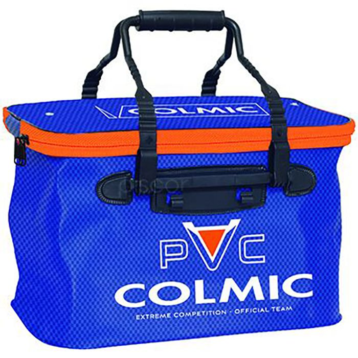 COLMIC BORSA PVC LION MEDIUM ORANGE SERIES