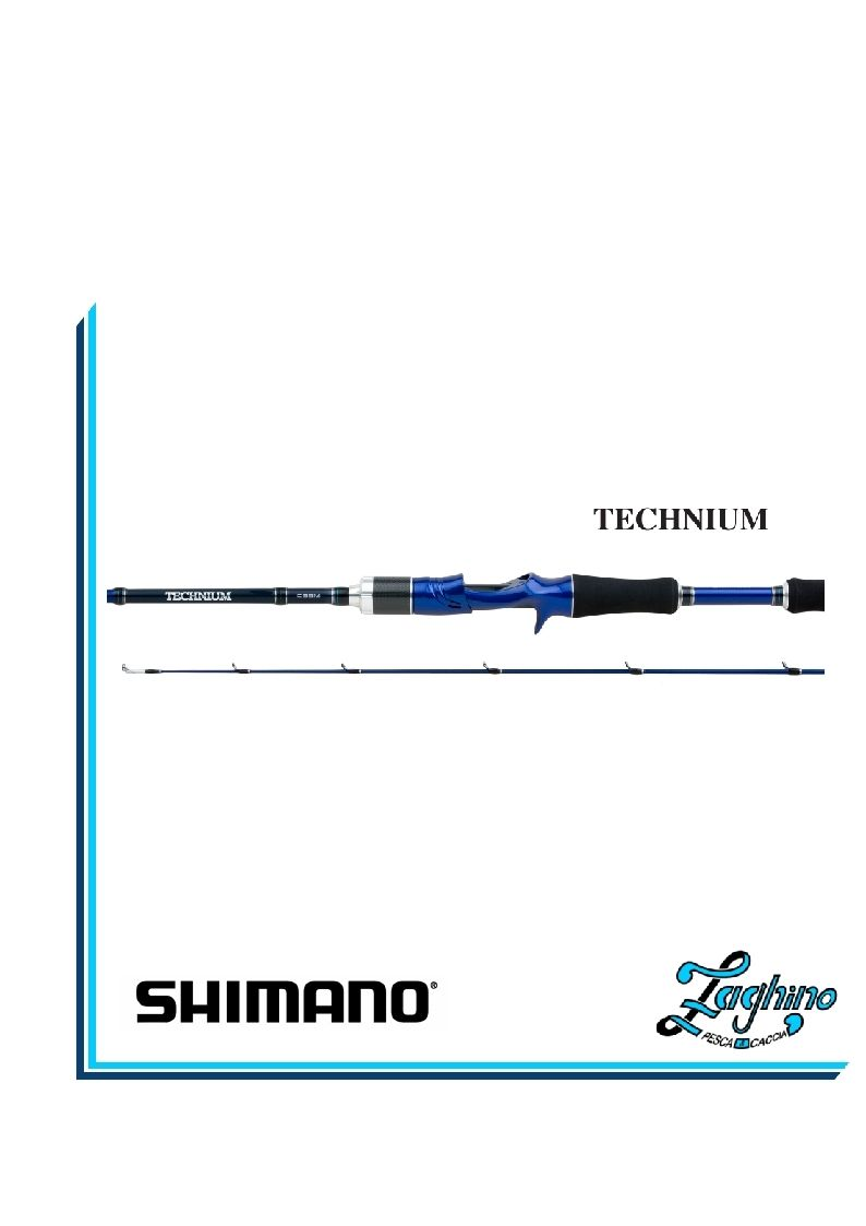 CANNA SHIMANO Technium Casting New Model Shimano Shop X-STORE Garanzia 2/3 Anni