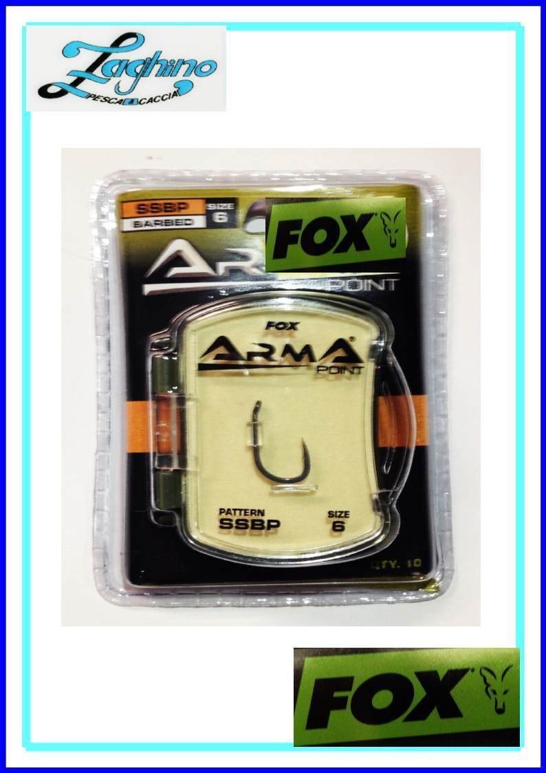 AMI FOX ARMA POINT SERIE SSBP BARBED CARP FISHING