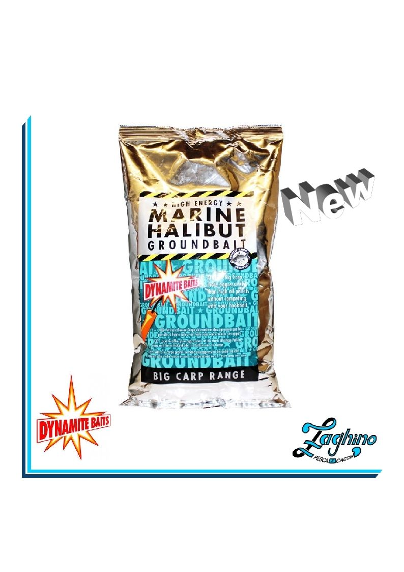 DYNAMITE BAITS Marine Halibut Groundbait pastura 1kg DY013 New 2017