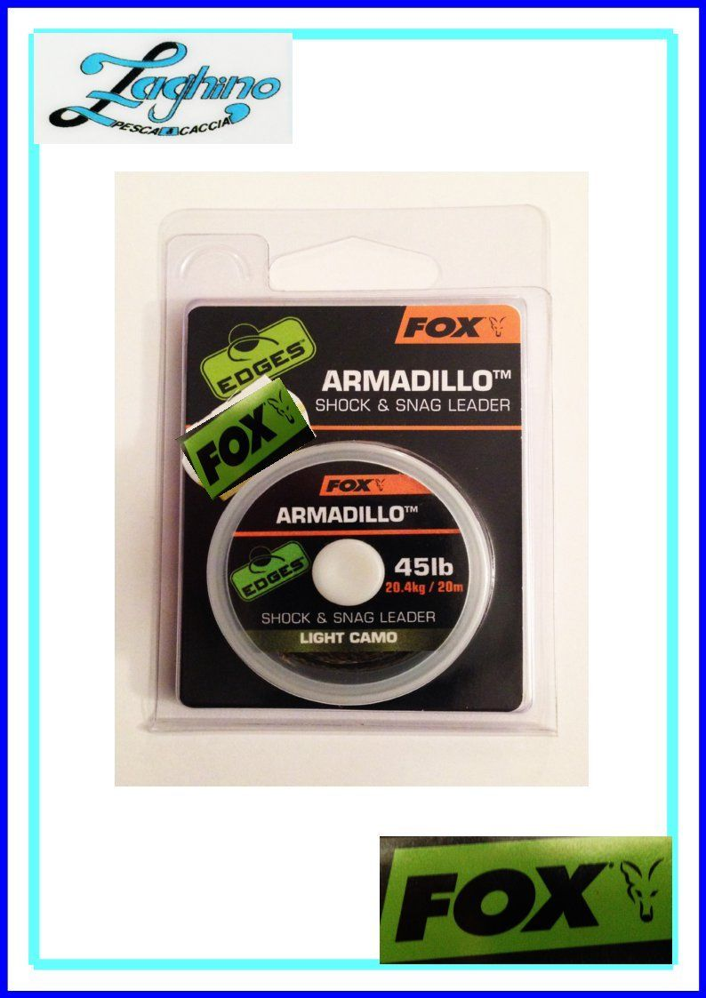 FOX EDGES ARMADILLO 45lb  20mt  Cod. CAC456
