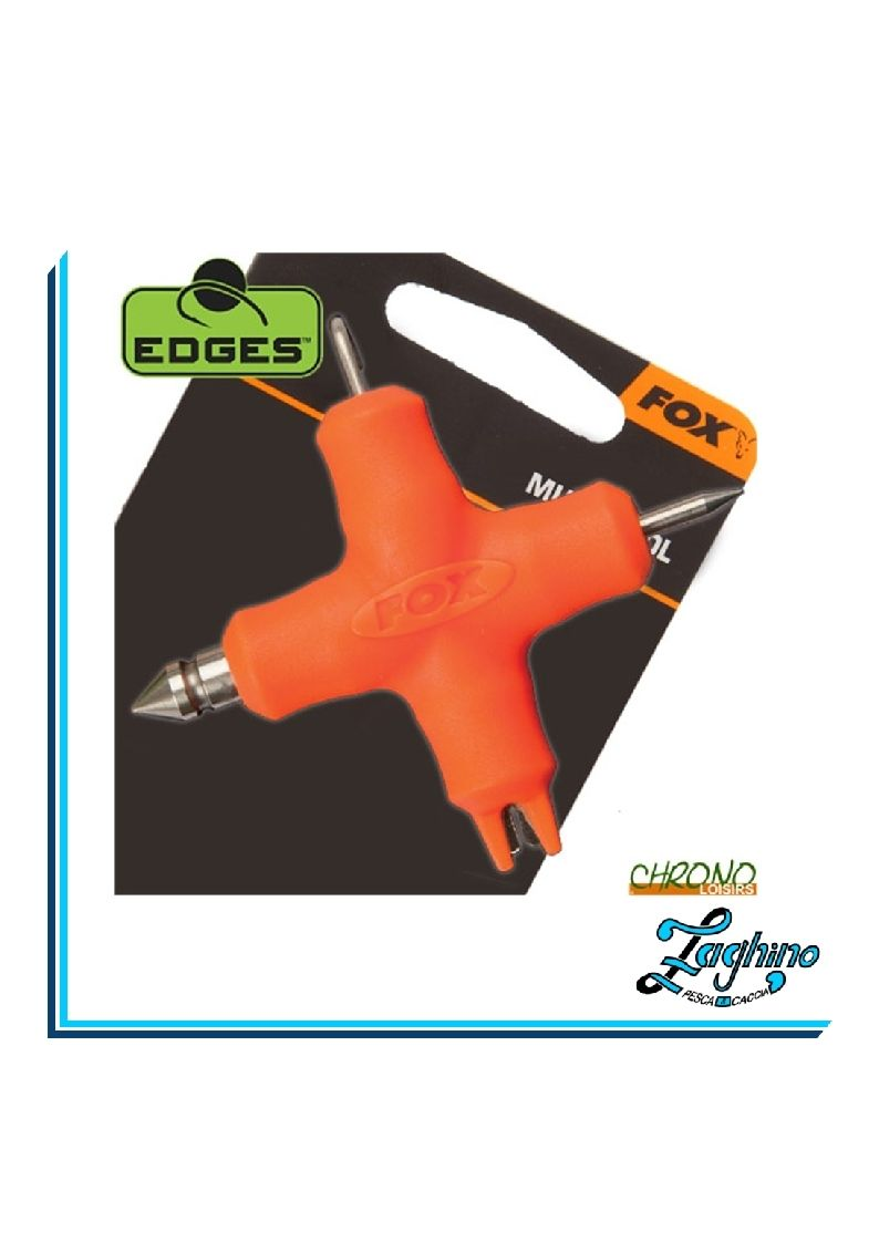 FOX CAC587 EDGES MULTI TOOL ORANGE