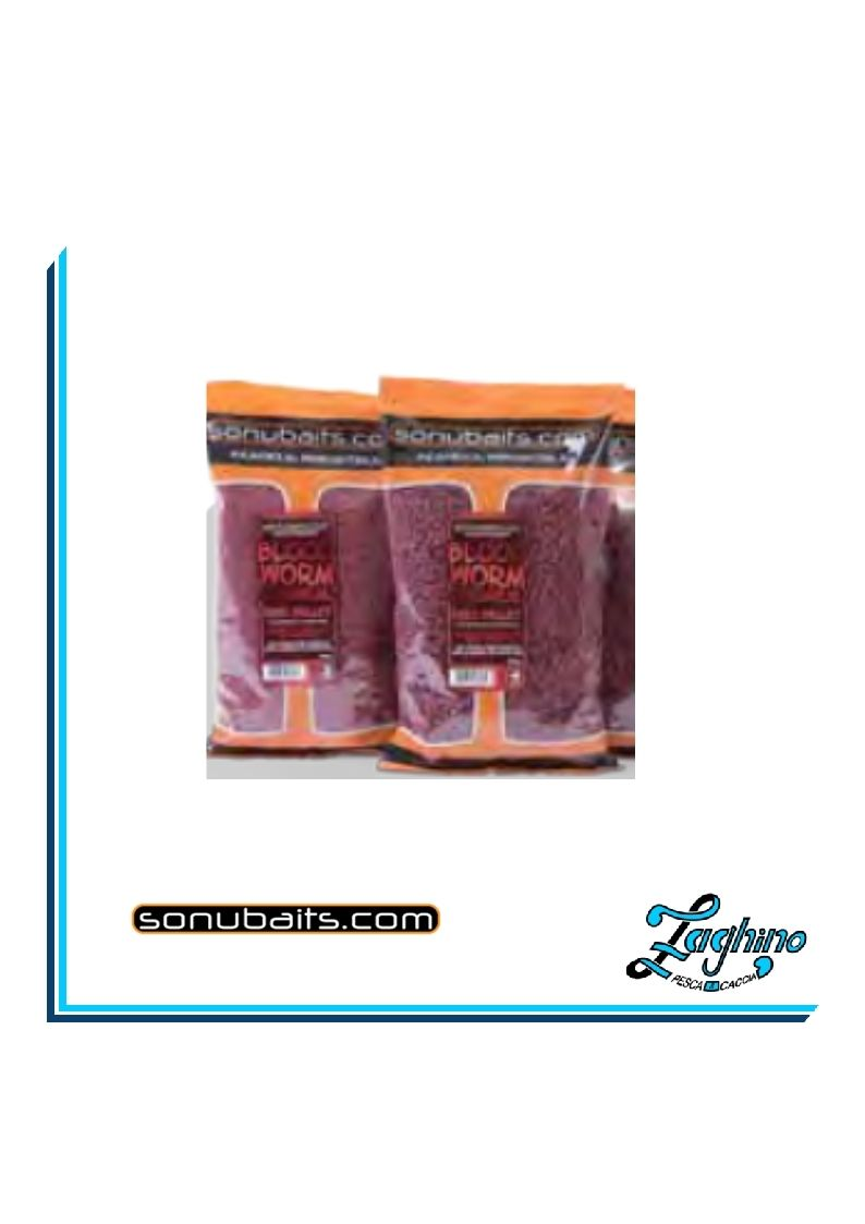 Sonubaits Feed Pellets Bloodworm 2mm 900gr