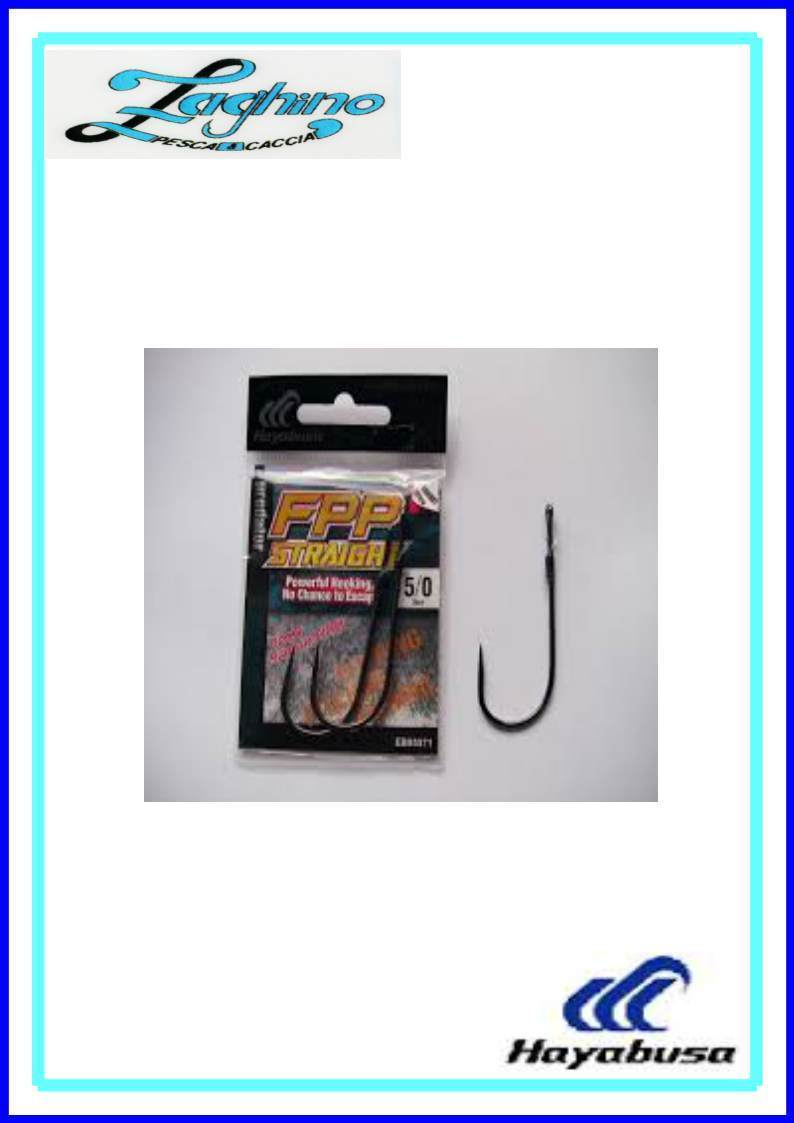 Ami hayabusa Colmic FPP STRAIGHT spinning soft bait 1/0-2/0-3/0 black bass