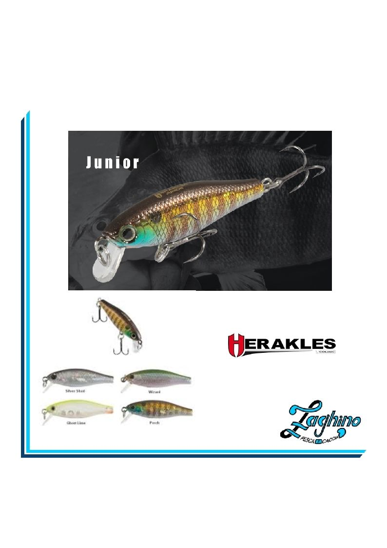 Esca Artificiale Herakles Hard Bite Jerkbait Junior 40mm 3.0gr