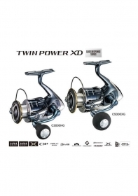 MULINELLO SHIMANO TWIN POWER XD NEW 2017 X-STORE GARANZIA 2/3 ANNI