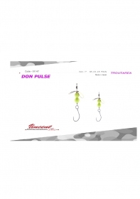 Vincent Spoon Don Pulse Area Trout Original Giappone New Colore 17