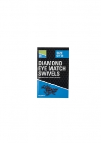 PRESTON DIAMOND EYE MATCH SWIVELS N 14  NEW 2018
