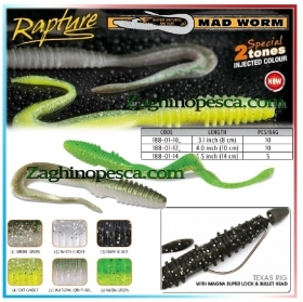 Esca Artificiale Rapture Mad Worm 10cm