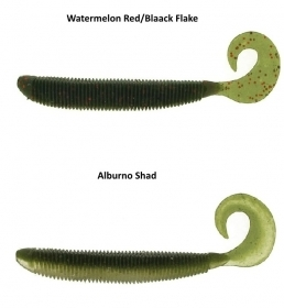 "Molix RA GRUB 6"" Soft Baits Esca Artificiale Morbida"