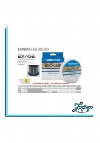 Monofilo Nylon Shimano Exage Mulinello 1000mt Extra Strong Japan misure varie