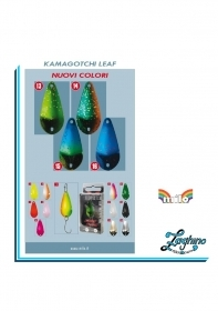 Milo Kamagotchi Leaf Spoon TROUT AREA ARTIFICIALE TROTA ONDULANTE NEW
