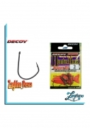 Ami DECOY WORM16 Hunter Hook  spinning blackbass vermone