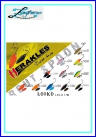 HERAKLES LOSKO SPOON COLMIC  1,6/2,5gr. ARTIFICIALE AREA TROUT