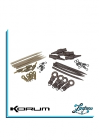 Korum Running Rig Kit Weedy Green Large/Small