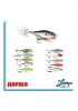 RAPALA SKITTER POP SP-9 colore CH(CHROME) SURFACE POPPER SPINNING