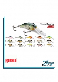 RAPALA SHAD DANCER SDD05 SPINNING
