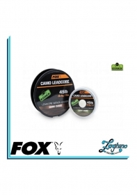 FOX EDGES LIGHT CAMO LEADCORE 45lb  25mt  Cod. CAC460