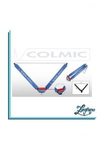 "COLMIC ROLLER ""V"" 40 cm: RED SMALL ROLLERS RULLO A V per Roubaisienne"